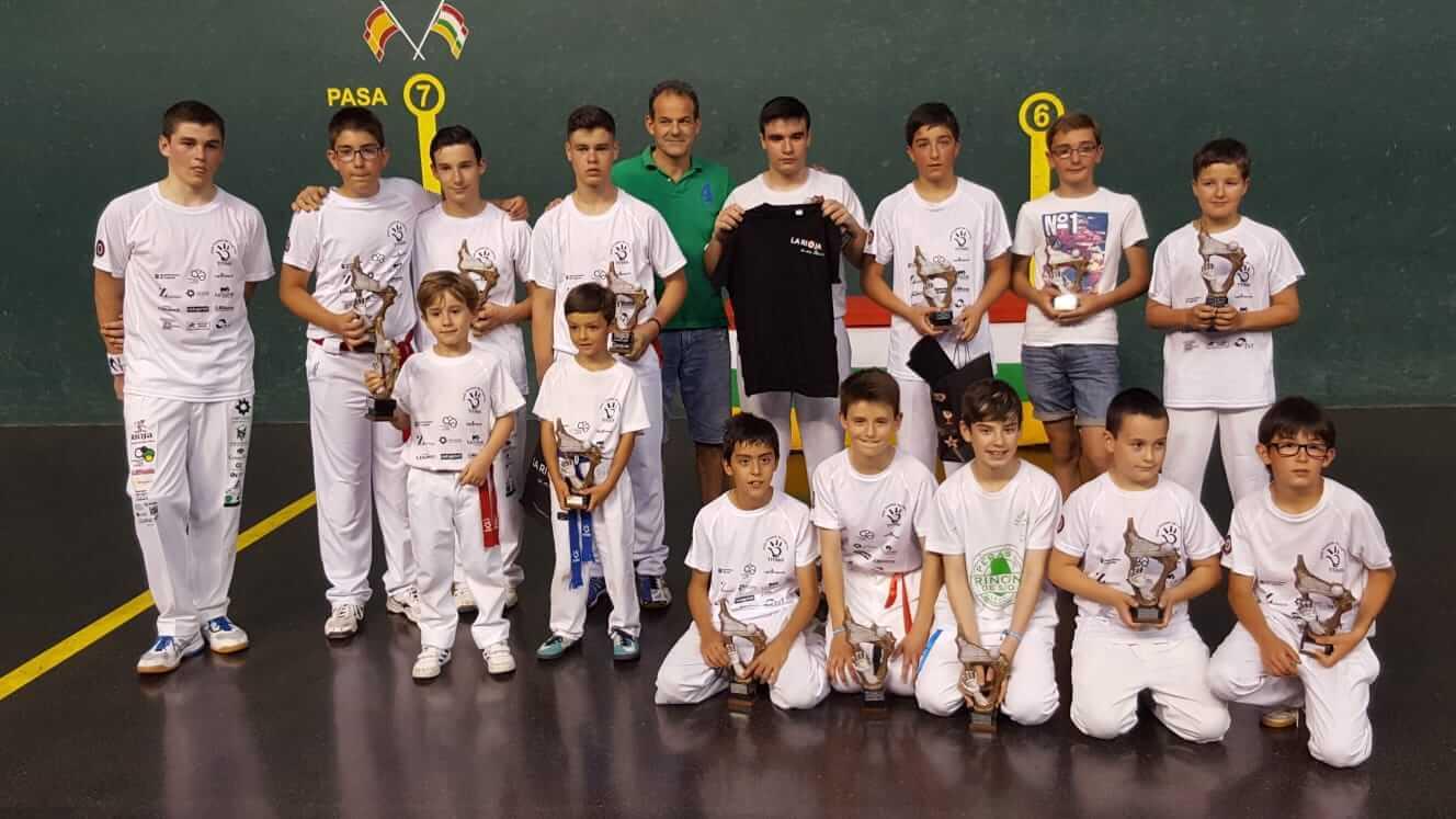 Sergio Nanclares y Raúl Pérez, campeones del Torneo Titín III de pelota 1