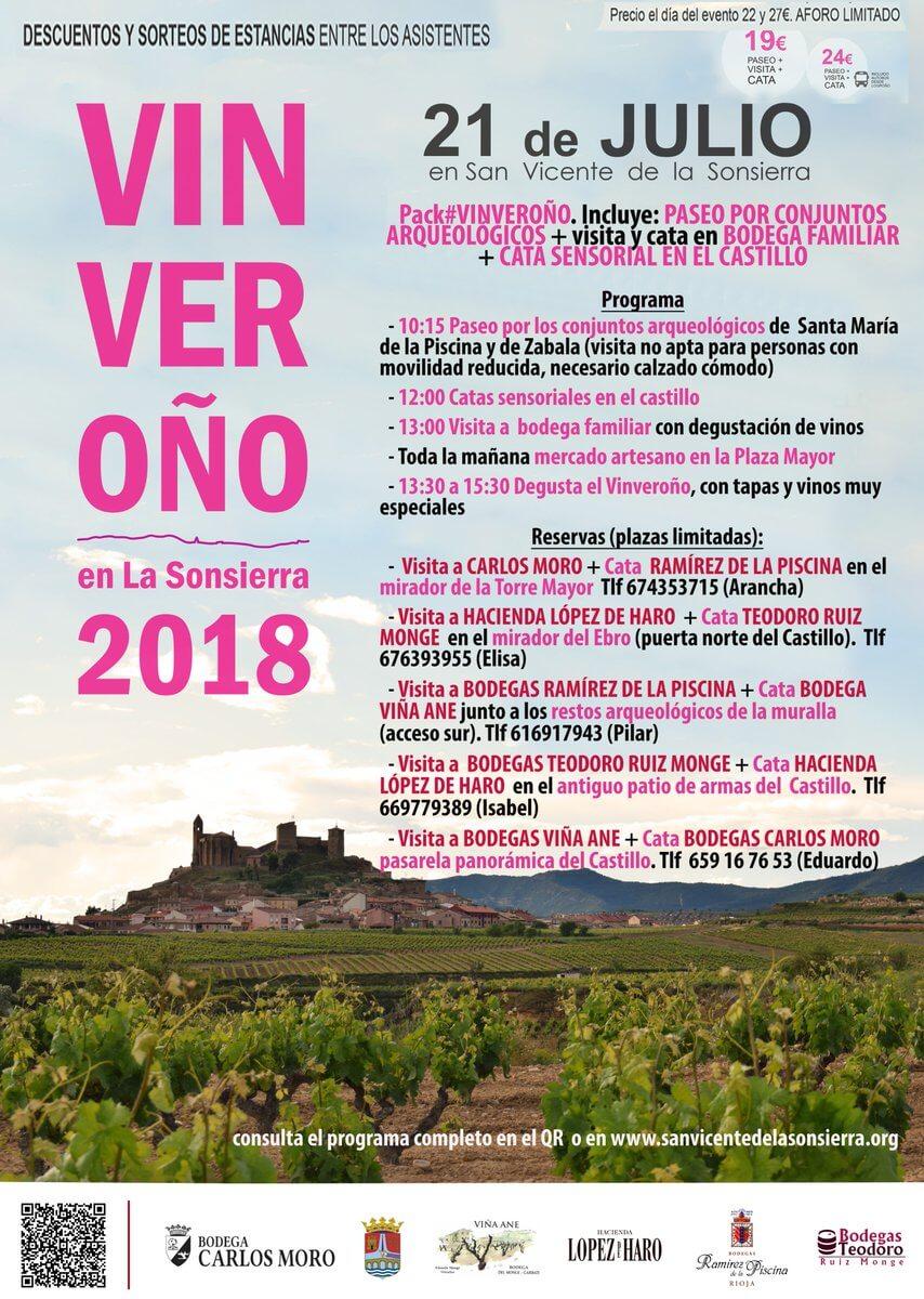 Disfruta este sábado del Vinveroño: cultura, patrimonio y vino en San Vicente de la Sonsierra 3