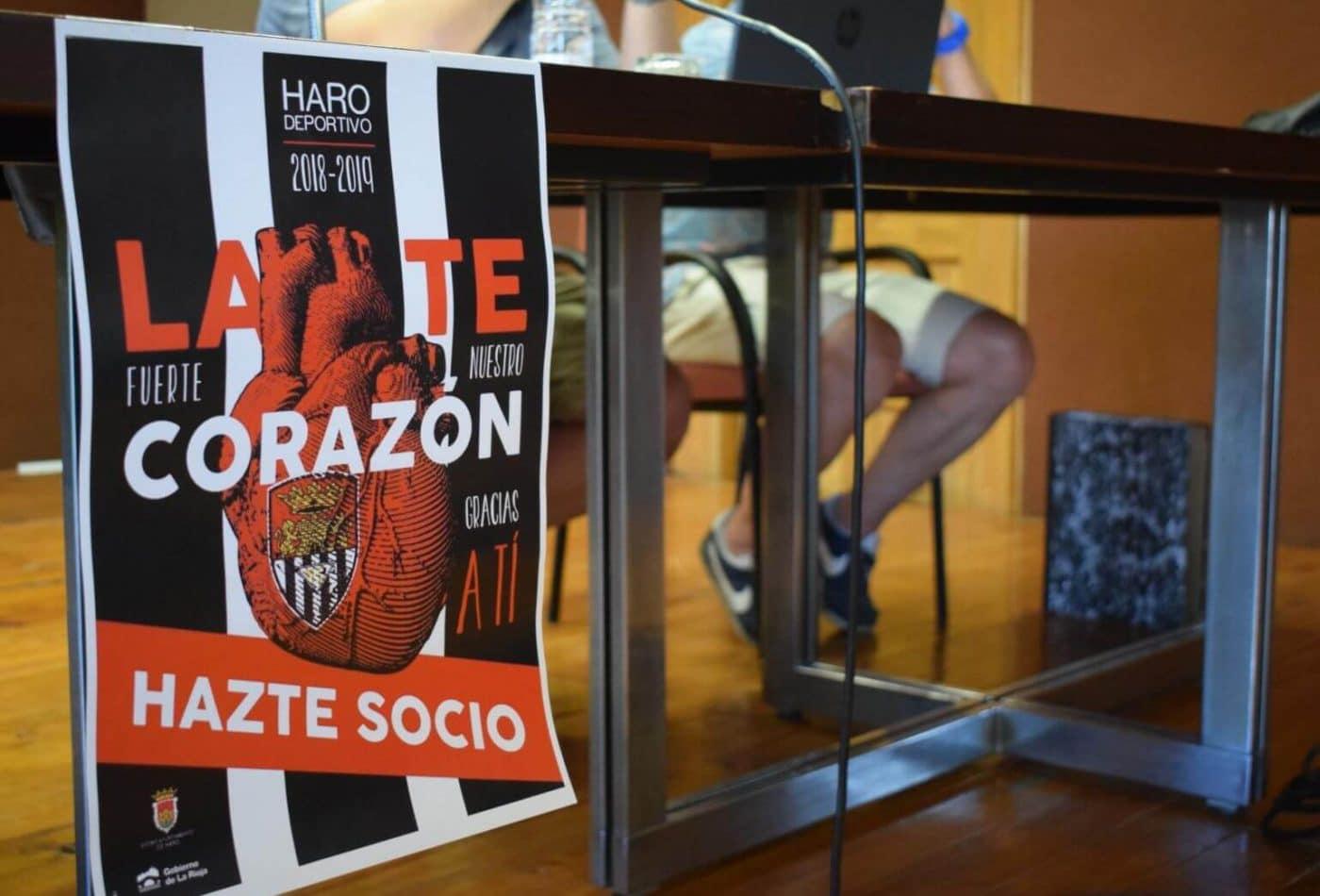 El Haro Deportivo baraja un presupuesto de unos 160.000 euros para la próxima temporada 1