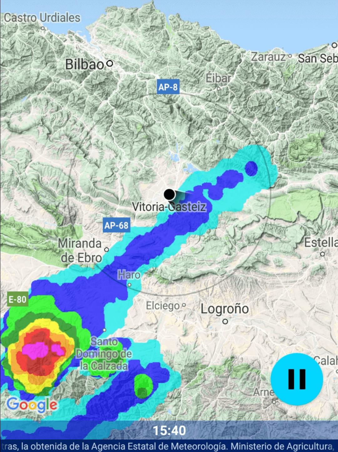 Hasta 70 incidencias registradas por SOS Rioja por la tormenta de este viernes 1