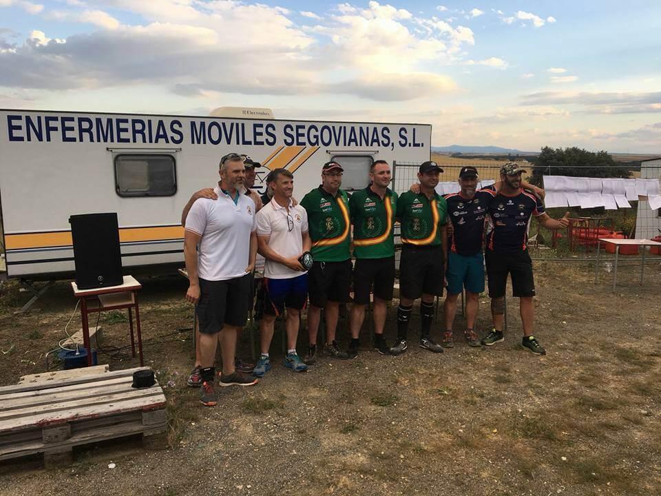 Histórica medalla de bronce en recorridos de tiro para el Club de Tiro Rioja Alta 1