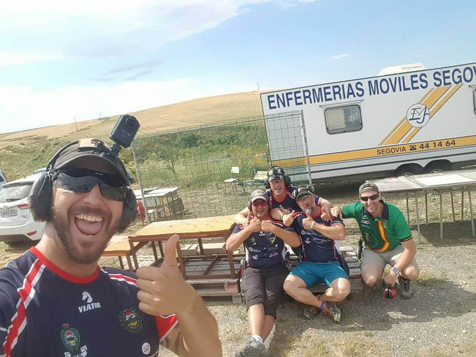 Histórica medalla de bronce en recorridos de tiro para el Club de Tiro Rioja Alta 2
