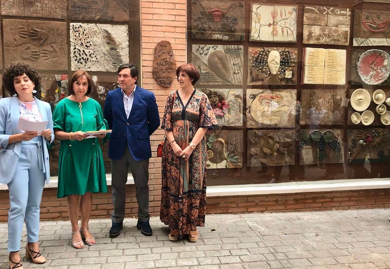Inaugurada la Feria N.A.C.E. de Navarrete dedicada a Pablo Picasso 1