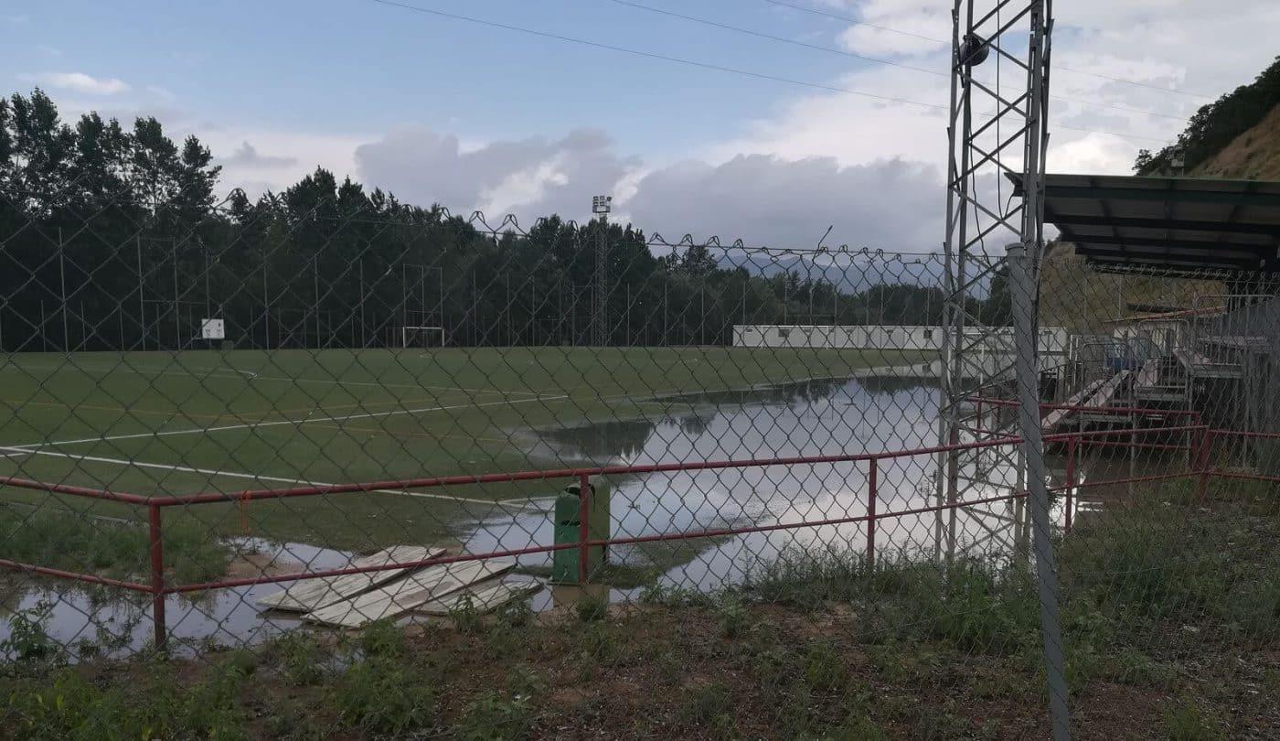 Incidencias de la tormenta en Haro: cortes de luz y zonas anegadas por el agua 1