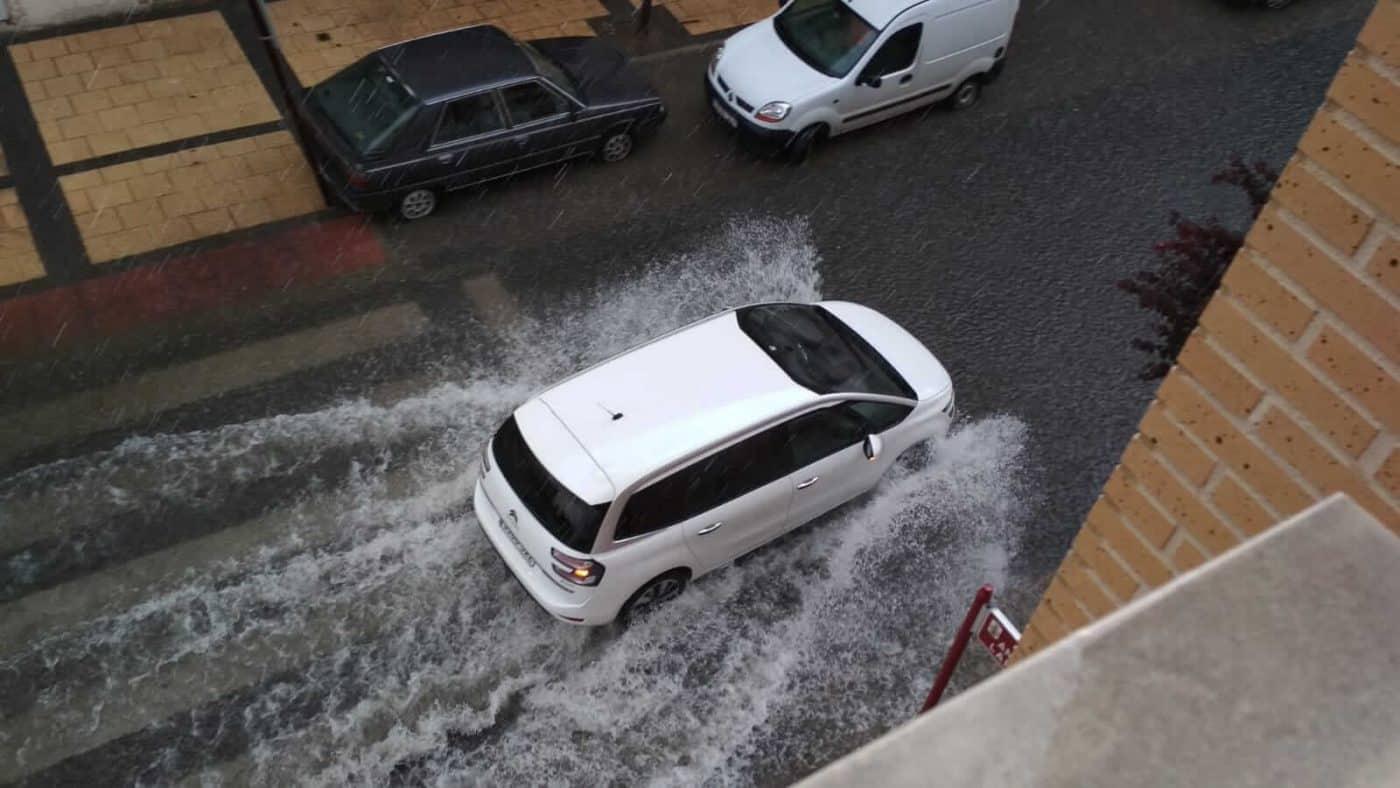 Incidencias de la tormenta en Haro: cortes de luz y zonas anegadas por el agua 3