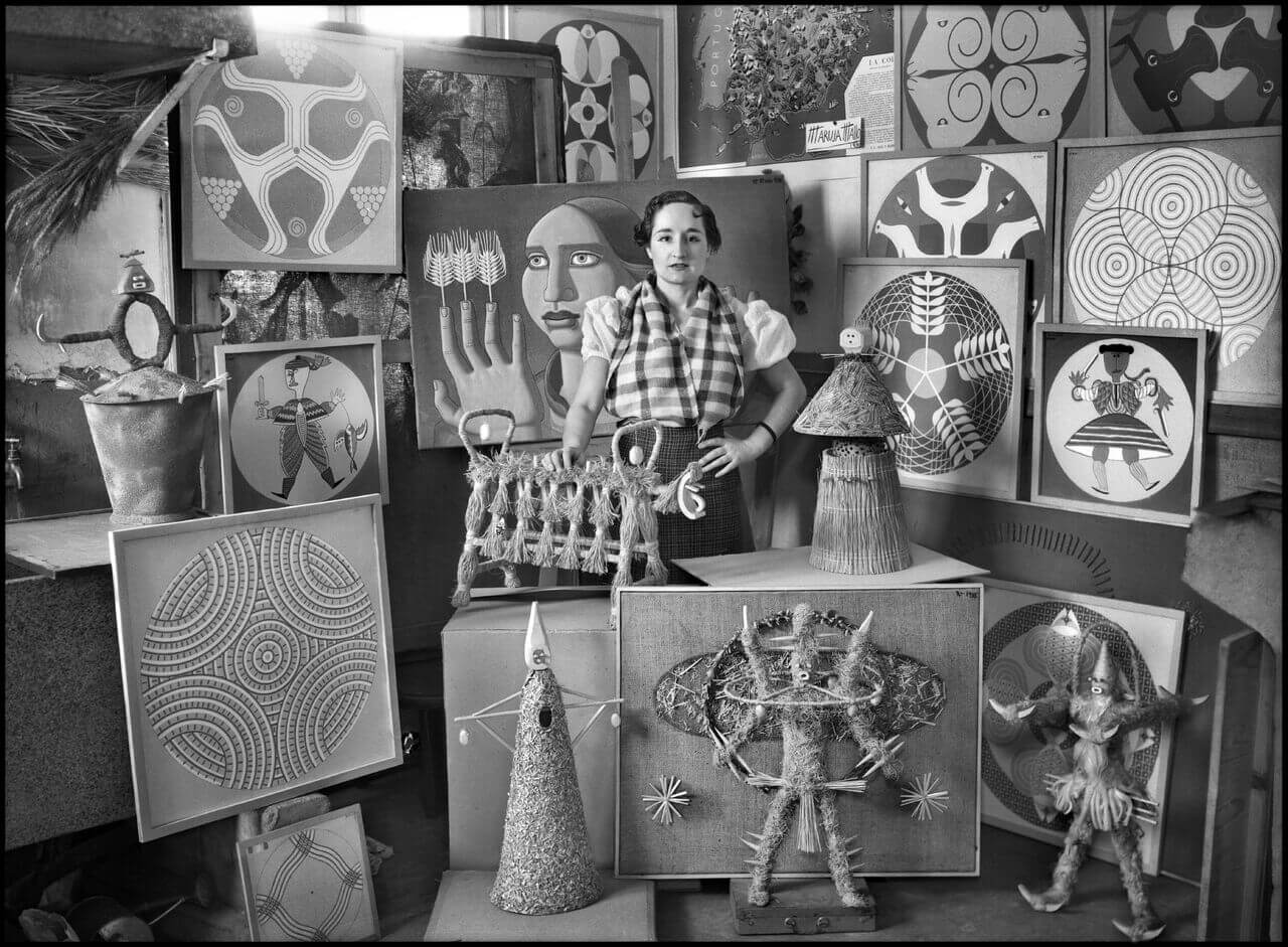 La Escuela de Patrimonio Histórico de Nájera acoge la exposición 'El taller del artista' 4