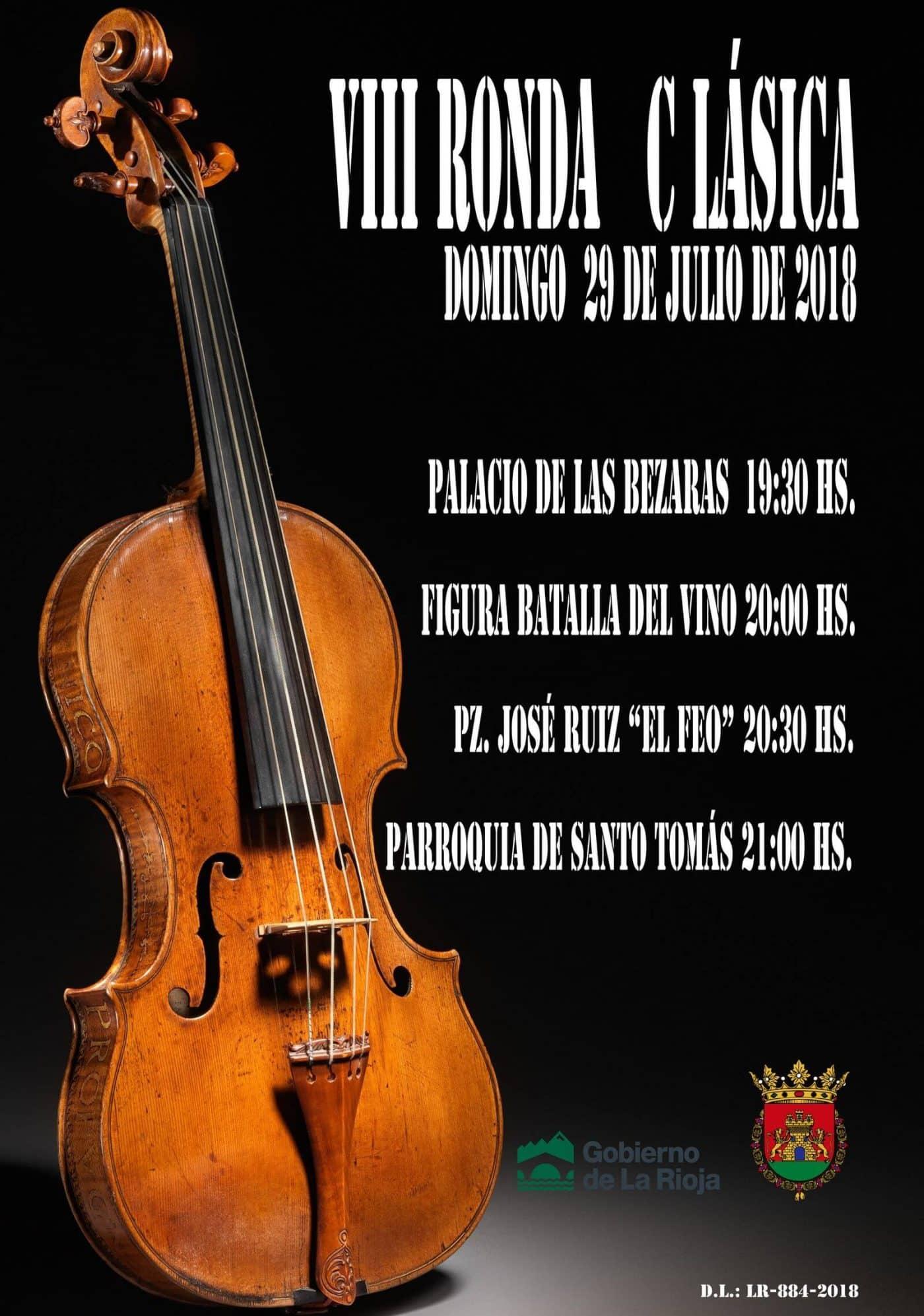 La música clásica resonará este domingo en las calles de Haro 2