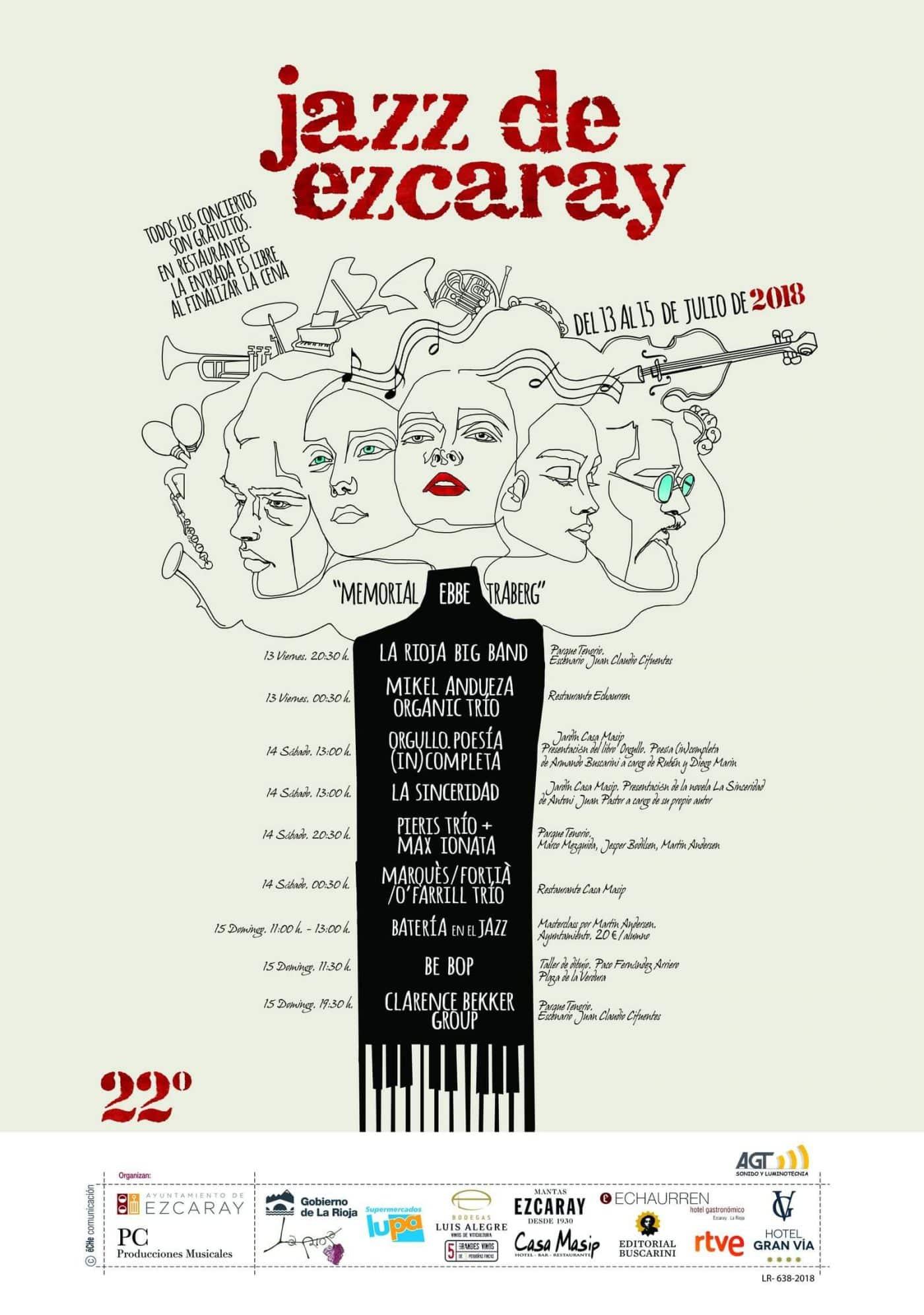 La Rioja Big Band y Mikel Andueza abren este viernes el Festival de Jazz de Ezcaray 2