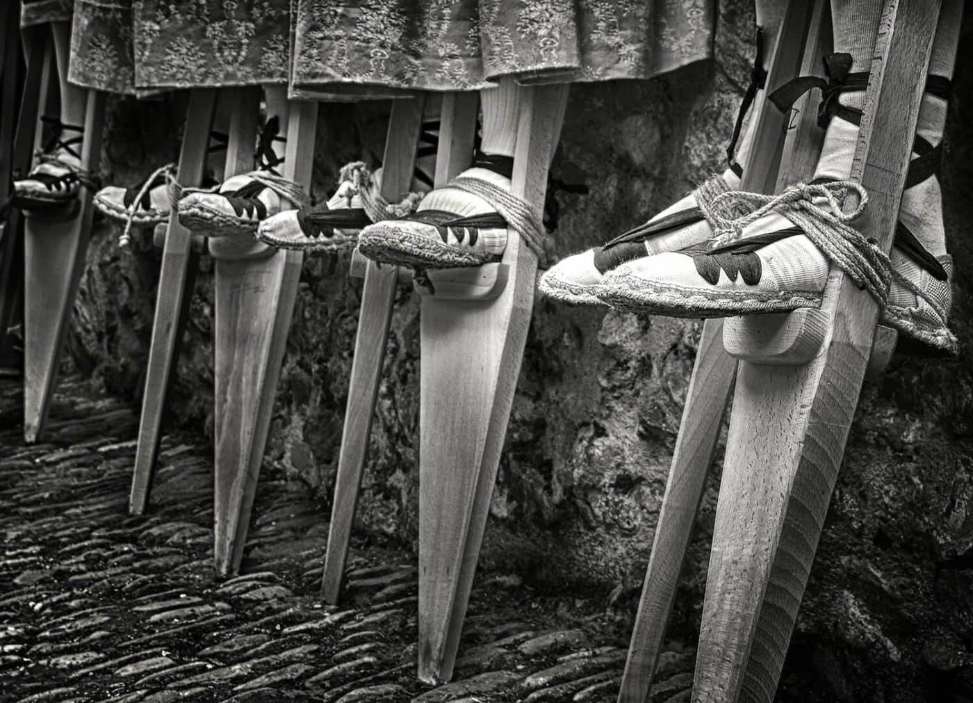 Una foto de las doncellas de Santo Domingo, ganadora del concurso 'La Rioja, primavera del patrimonio cultural' 3