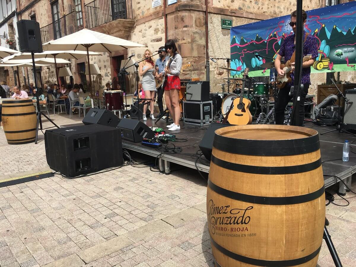 Más de 5.000 personas pasaron por la segunda edición del Ezcaray Fest 1