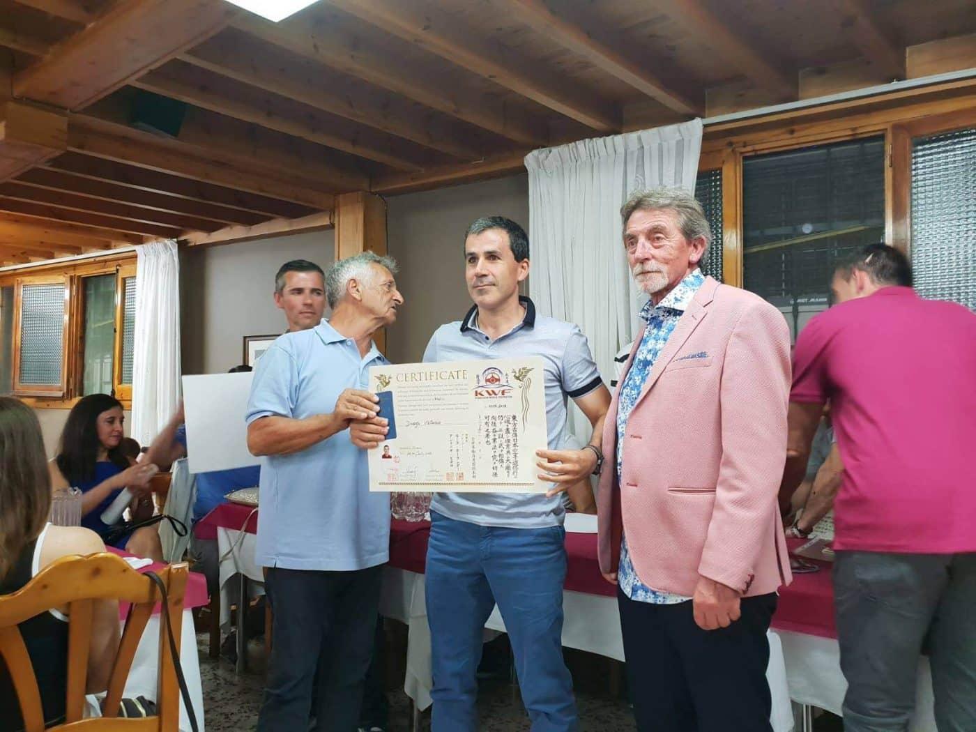Nuevos logros para el Kyoku Haro: Alberto Cimavilla, primer Kyu y Diego Velasco, nuevo Sensei 1
