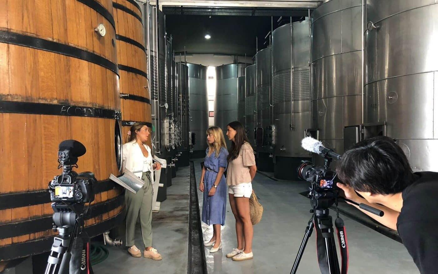 San Vicente de la Sonsierra, uno de los escenarios elegidos por la cadena japonesa Nihon TV para grabar un programa sobre estilos de vida 1