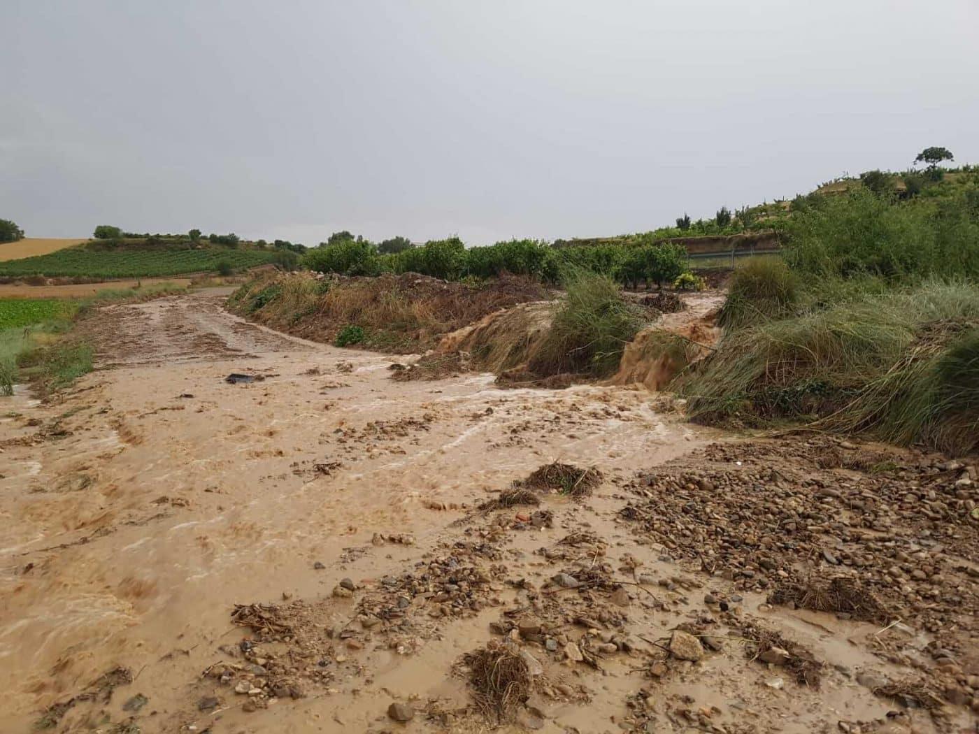 Tormentón en La Rioja Alta: hasta 16 incidencias registradas por SOS Rioja 11