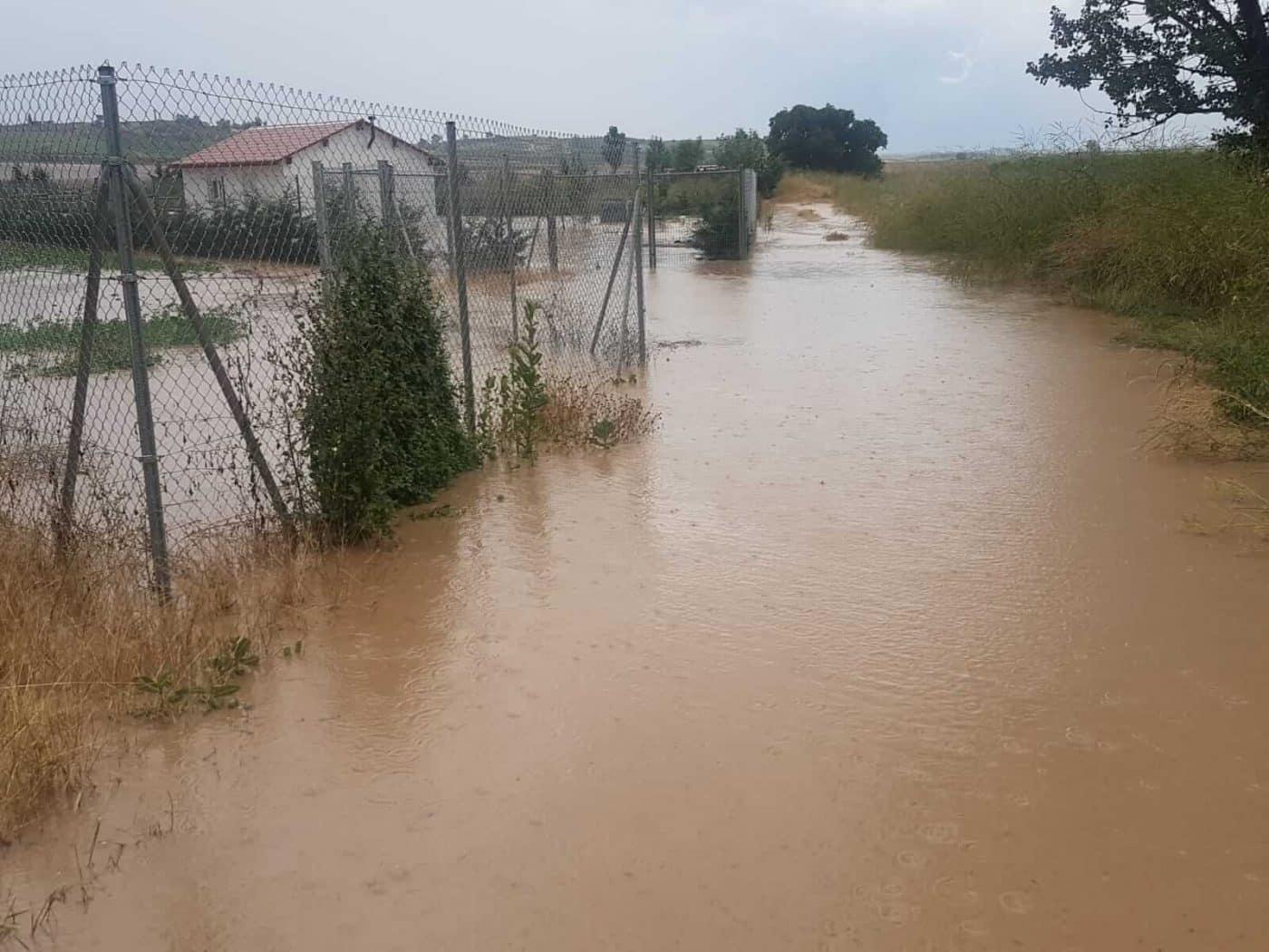 Tormentón en La Rioja Alta: hasta 16 incidencias registradas por SOS Rioja 4