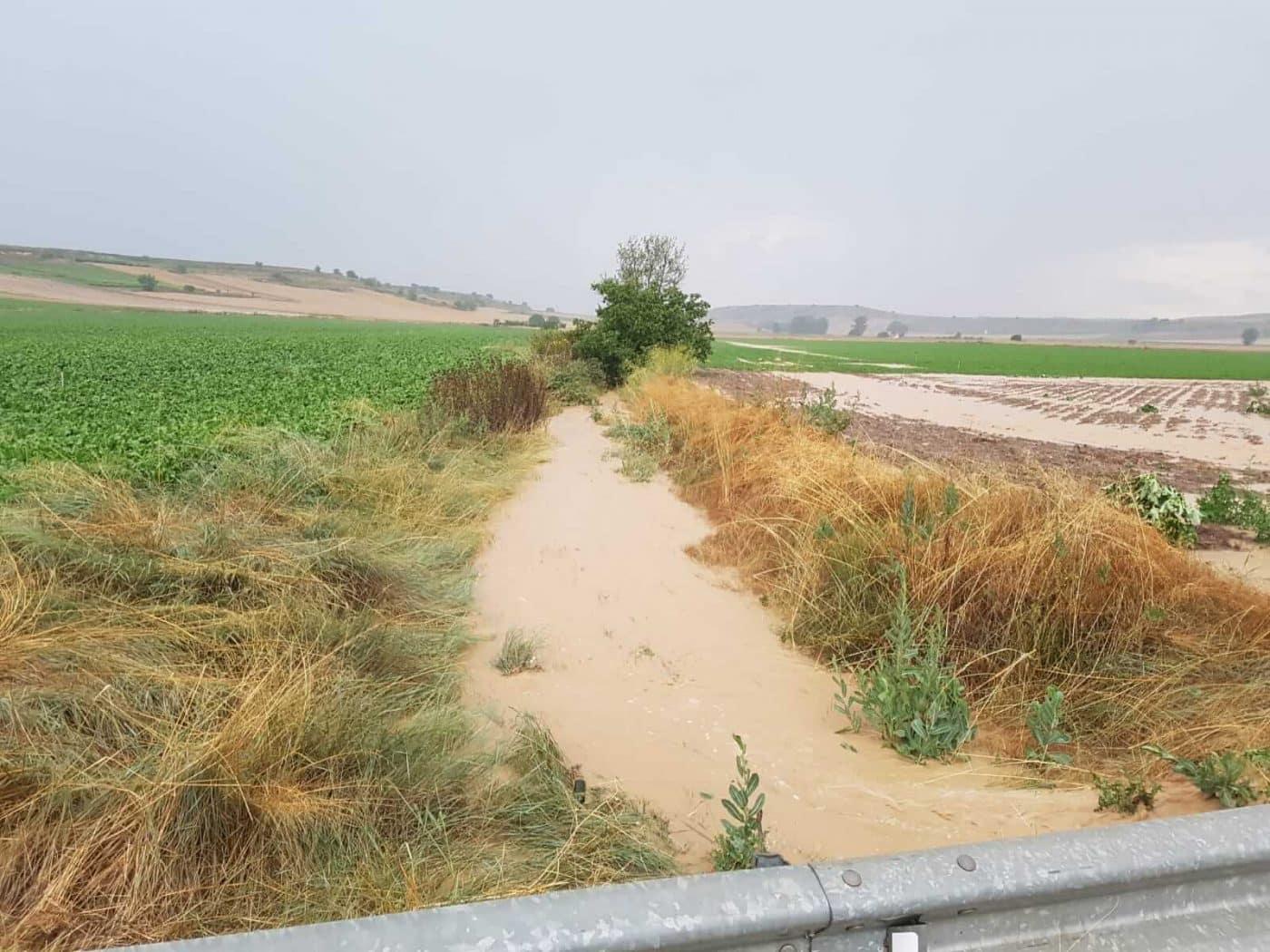 Tormentón en La Rioja Alta: hasta 16 incidencias registradas por SOS Rioja 6