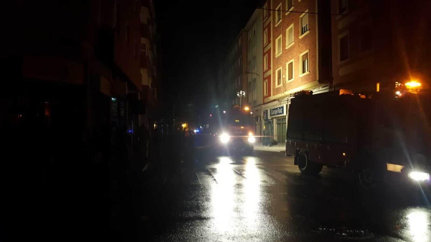 Un cortocircuito provoca un conato de incendio en la avenida de La Rioja en Haro 2