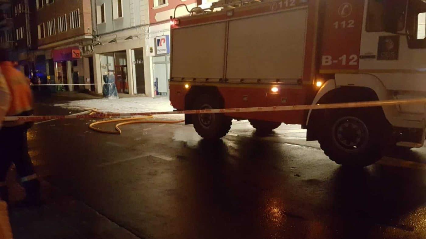 Un cortocircuito provoca un conato de incendio en la avenida de La Rioja en Haro 5