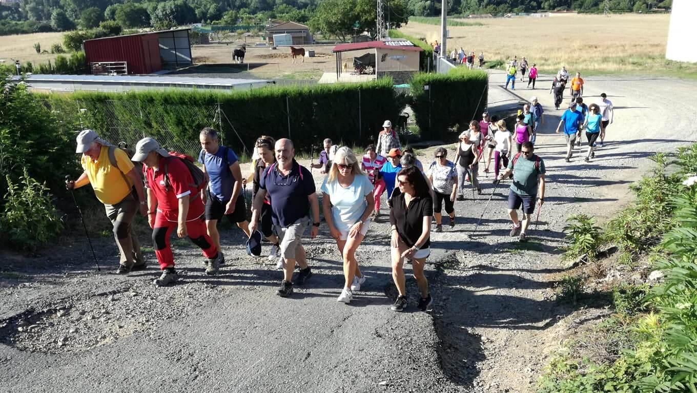 Unas 50 personas participaron en el recorrido de los Paseos Saludables de este domingo 1