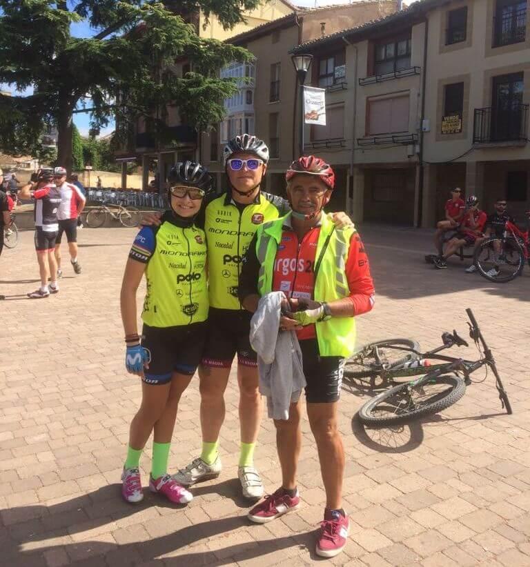 Amantes de la bicicleta rinden un multitudinario y emotivo homenaje a Roberto Pérez en Casalarreina 3