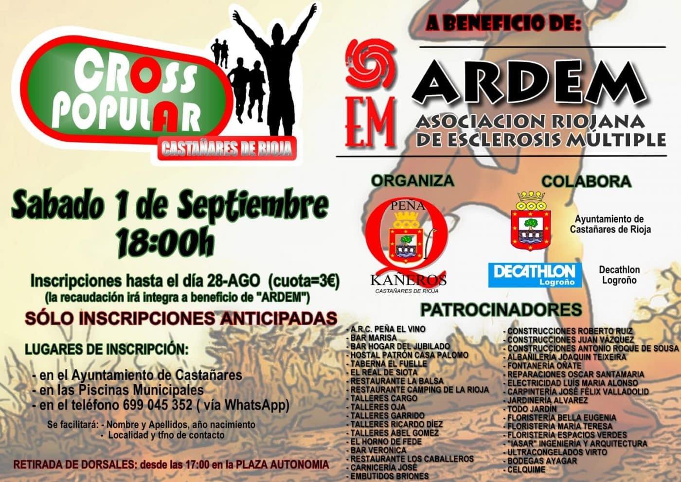 Castañares de Rioja correrá este sábado por la esclerosis múltiple 1