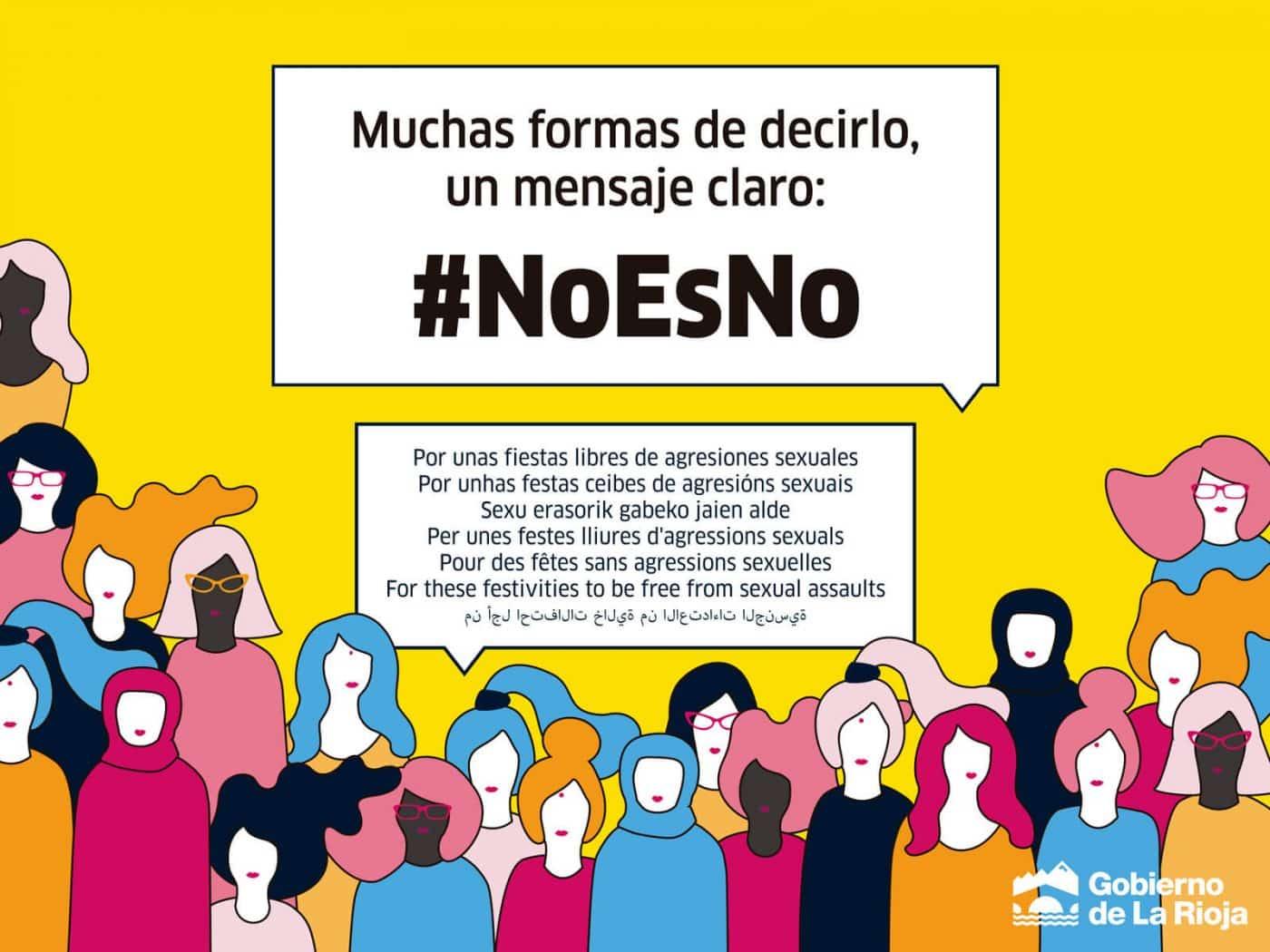 El Gobierno de La Rioja pone en marcha una campaña para evitar conductas y agresiones sexistas en las fiestas patronales 1