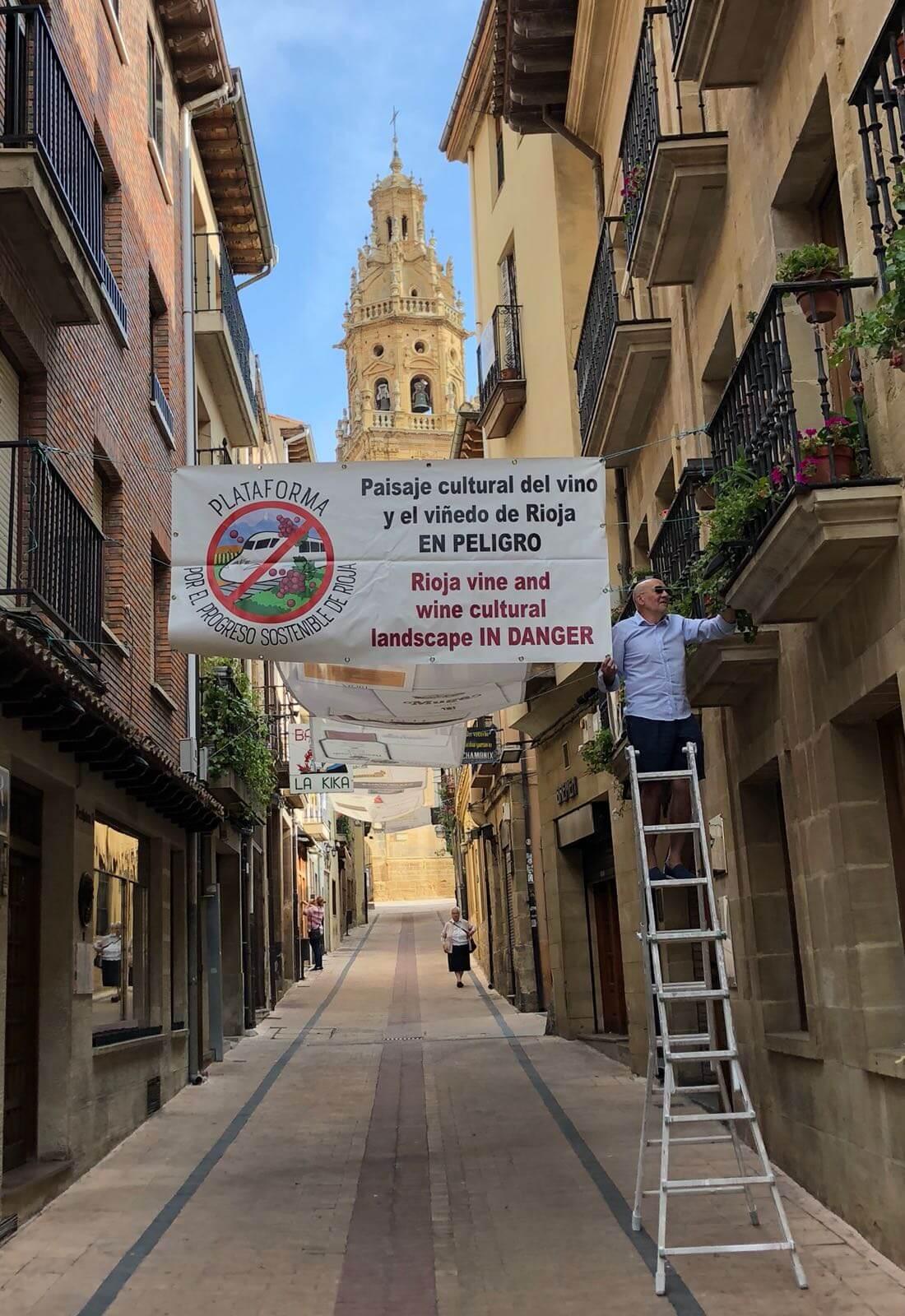 El proyecto del AVE en La Rioja, a debate este viernes en Haro 1
