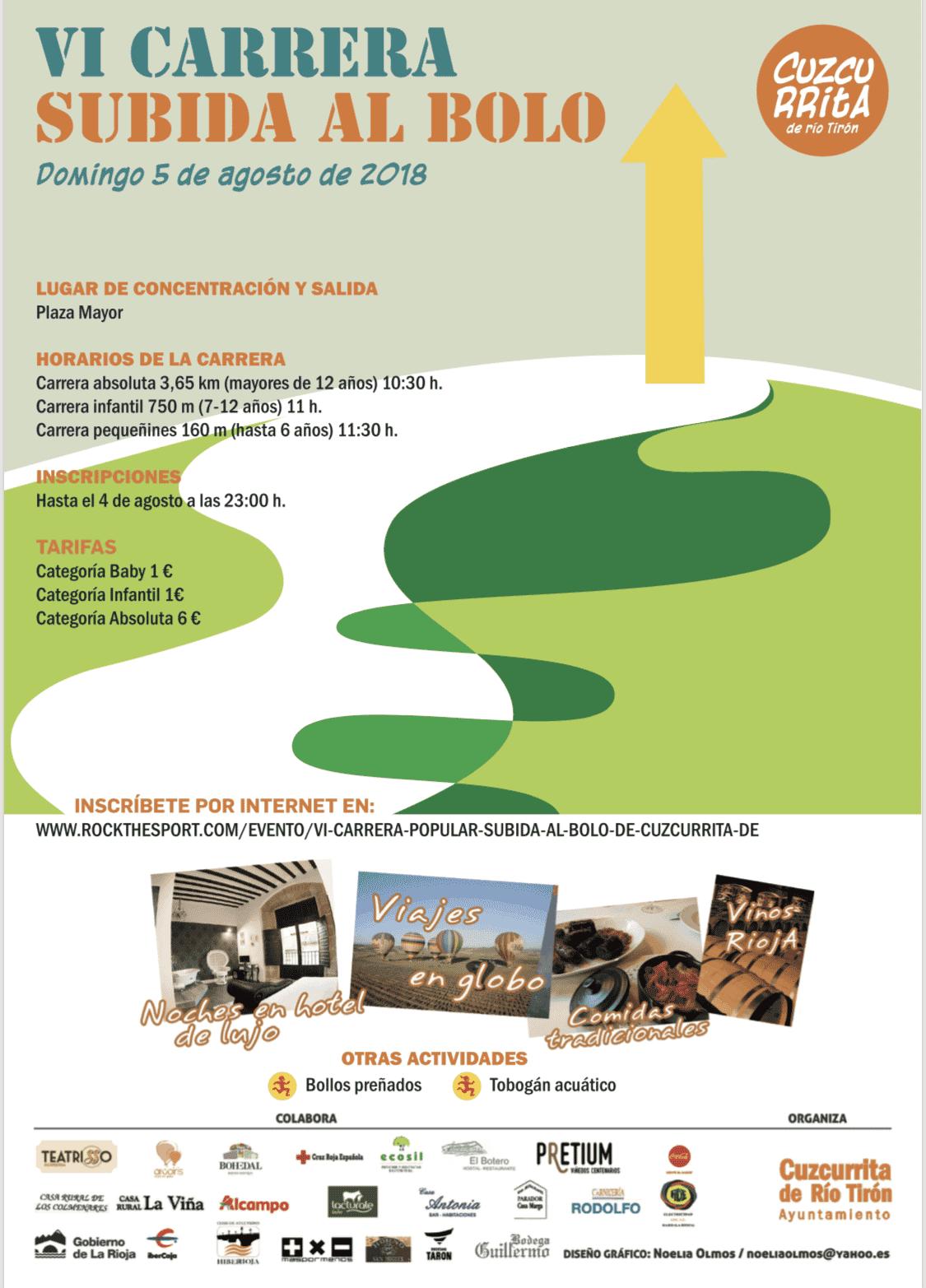 Este domingo, sexta edición de la 'Subida al Bolo' en Cuzcurrita de Río Tirón 3
