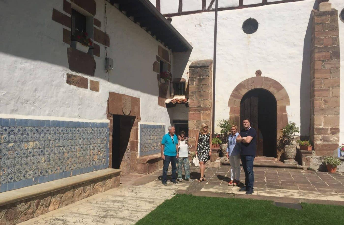 Finalizadas las obras de restauración en la ermita de Nuestra Señora de Allende de Ezcaray 1