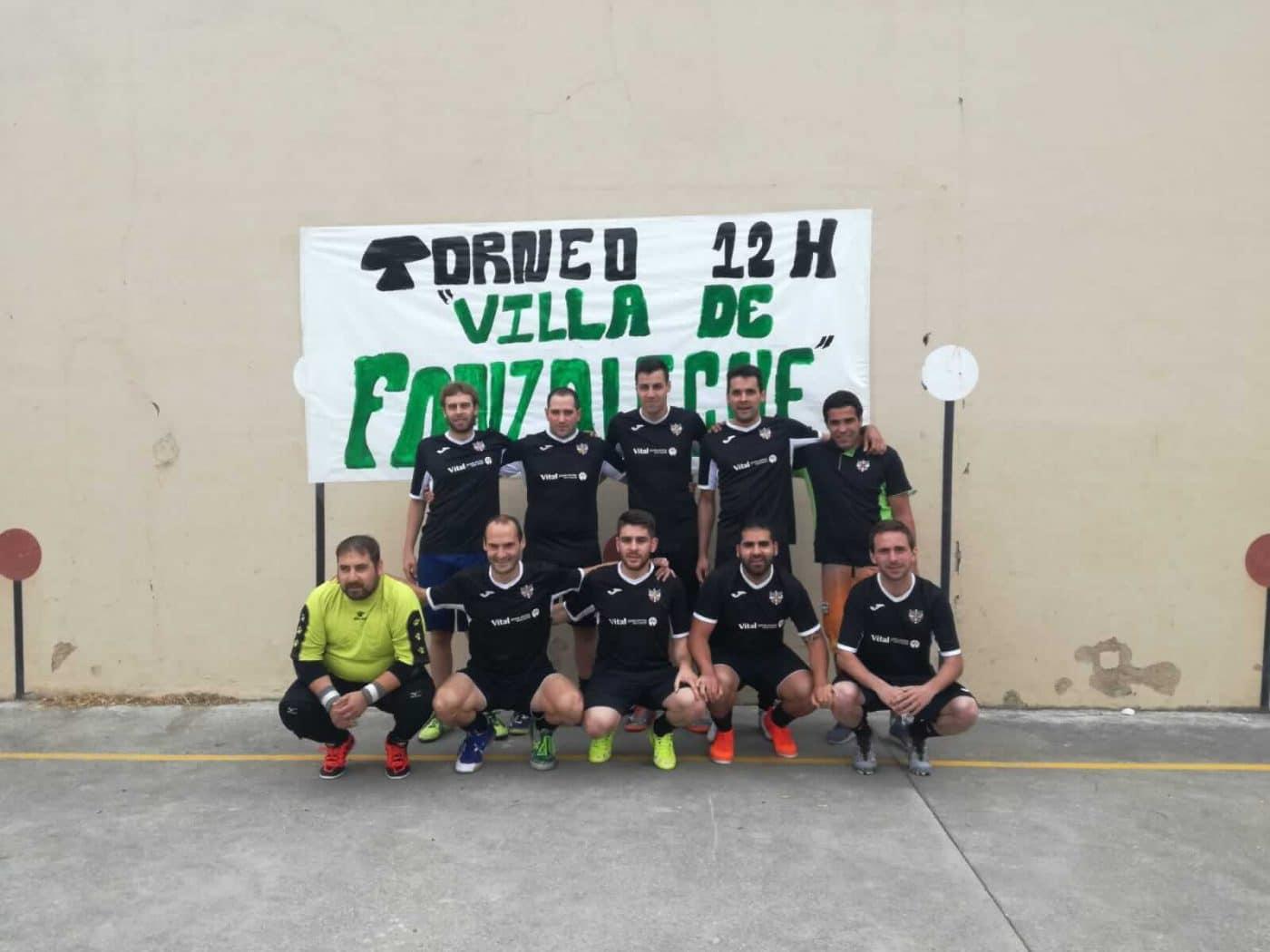 Fonzaleche vibró con sus 12 horas de fútbol sala 1