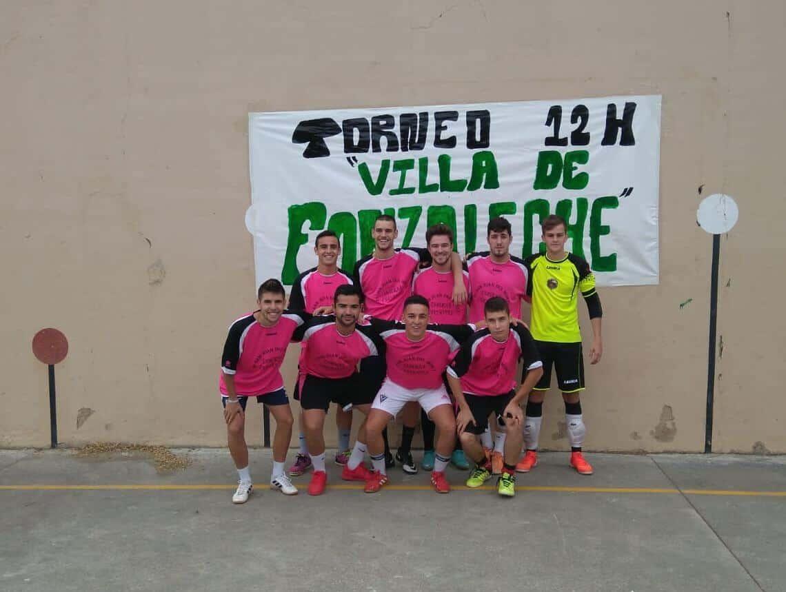Fonzaleche vibró con sus 12 horas de fútbol sala 14