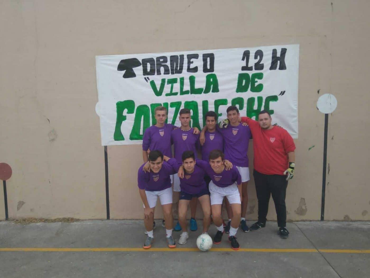 Fonzaleche vibró con sus 12 horas de fútbol sala 2