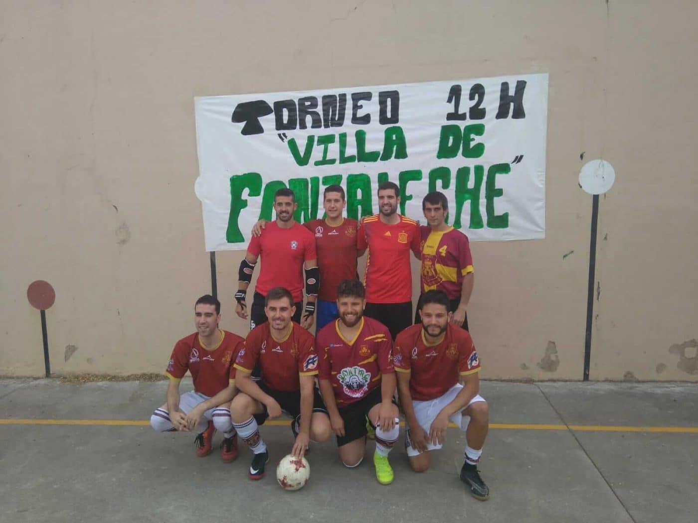 Fonzaleche vibró con sus 12 horas de fútbol sala 4
