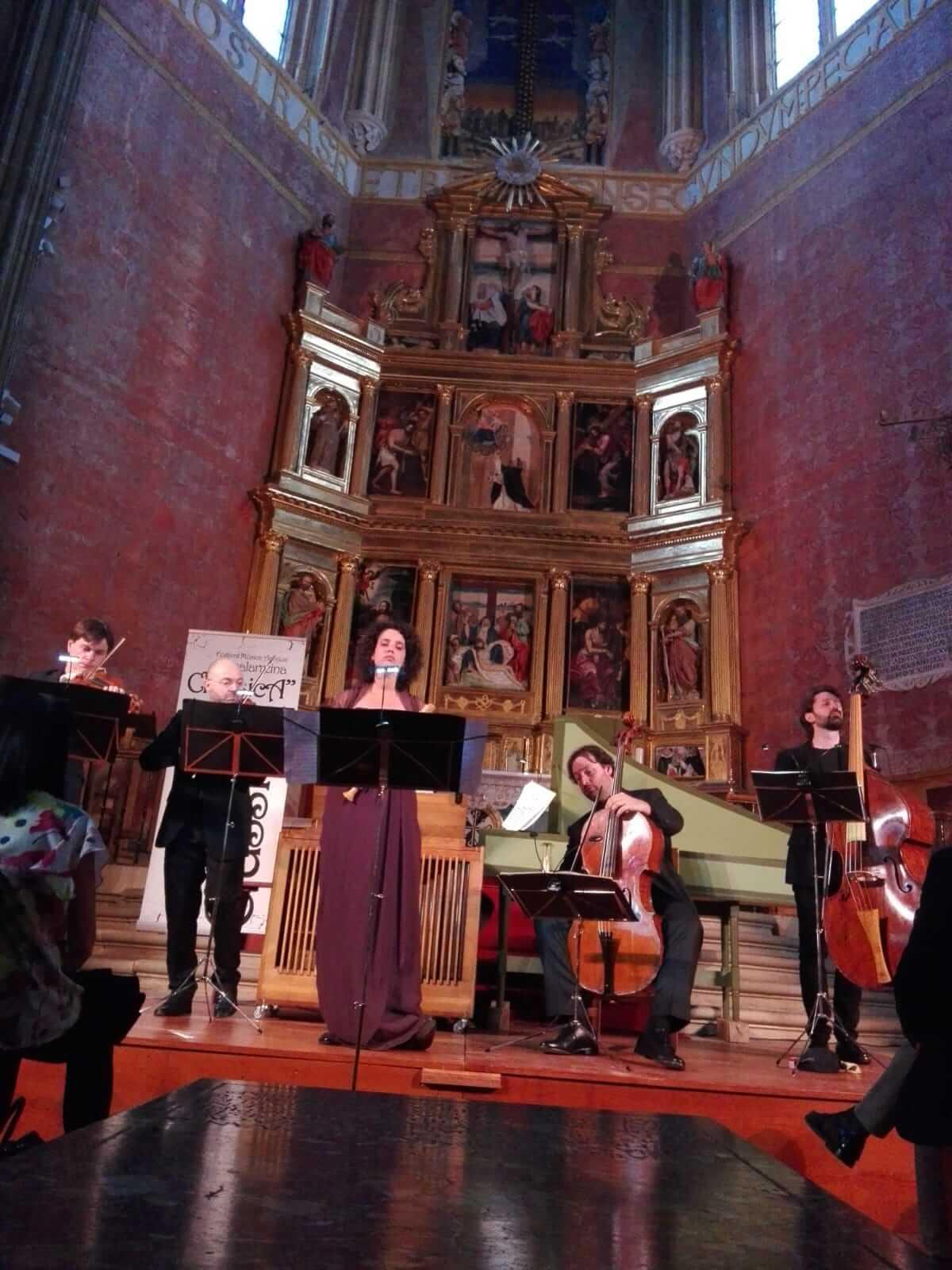 Los acordes más antiguos ya resuenan en La Piedad de Casalarreina 3