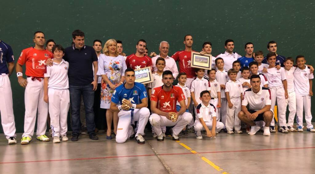 Miguel Merino entrenará a partir de septiembre a los pelotaris del Club Pelota Haro 1