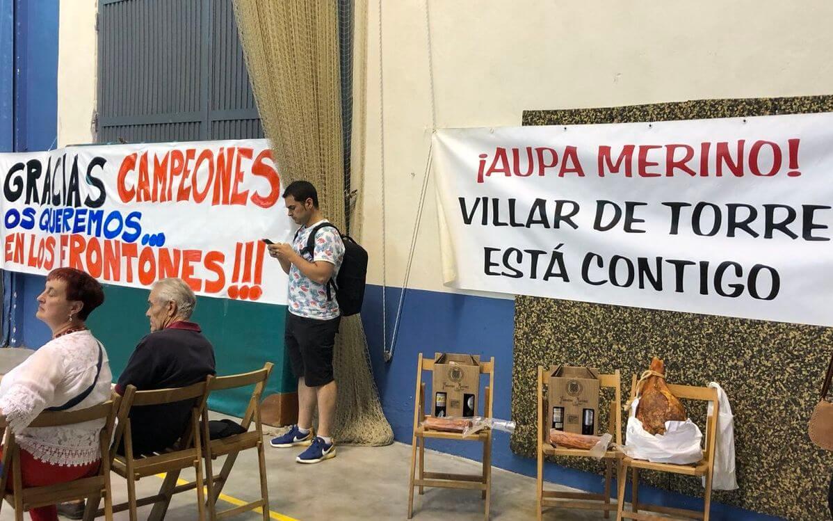 Miguel Merino entrenará a partir de septiembre a los pelotaris del Club Pelota Haro 2