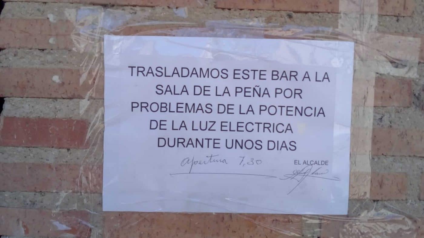 """PR+: """"El Ayuntamiento de Villalba de Rioja es tan oscuro que ni tan siquiera tiene energía eléctrica"""" 1"""