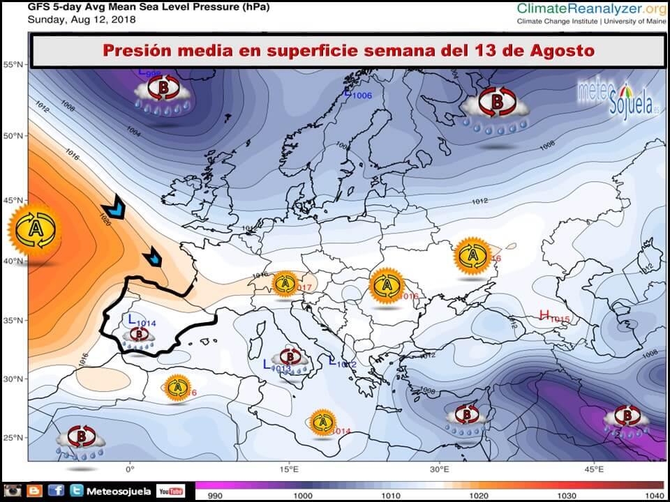 Semana estable con vaivenes en las temperaturas en La Rioja Alta 3