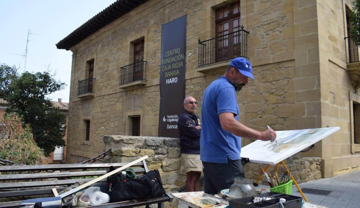 Uruñuela, Ollauri, Briñas, Badarán y Navarrete acogerán el tercer encuentro internacional de acuarelistas 1