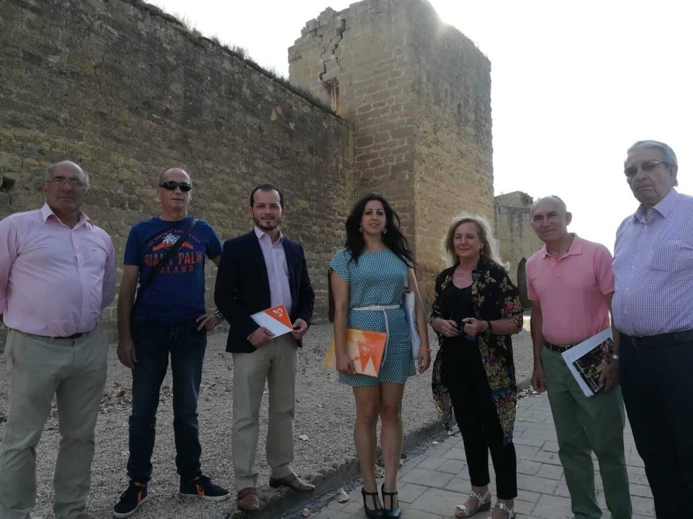 """Ciudadanos considera que la recuperación de las Murallas de Santo Domingo de la Calzada es """"urgente"""" 1"""