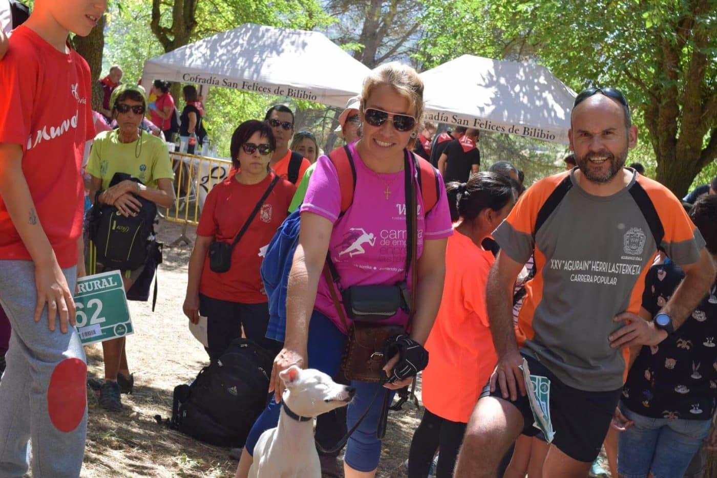 Gustavo Sánchez y Rebeca Peña, ganadores en San Felices 10