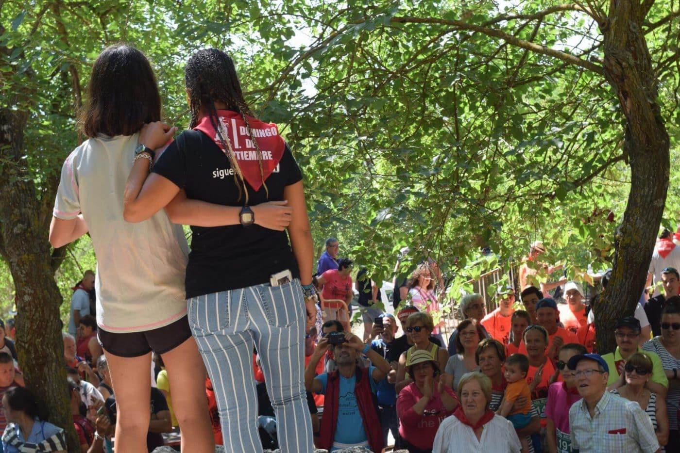 Gustavo Sánchez y Rebeca Peña, ganadores en San Felices 15