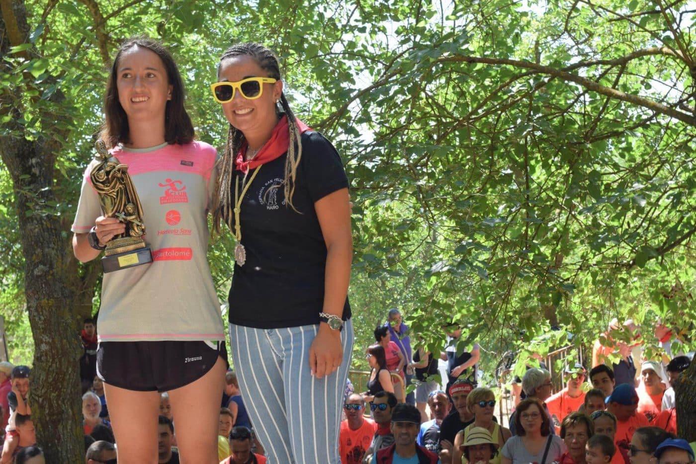 Gustavo Sánchez y Rebeca Peña, ganadores en San Felices 16