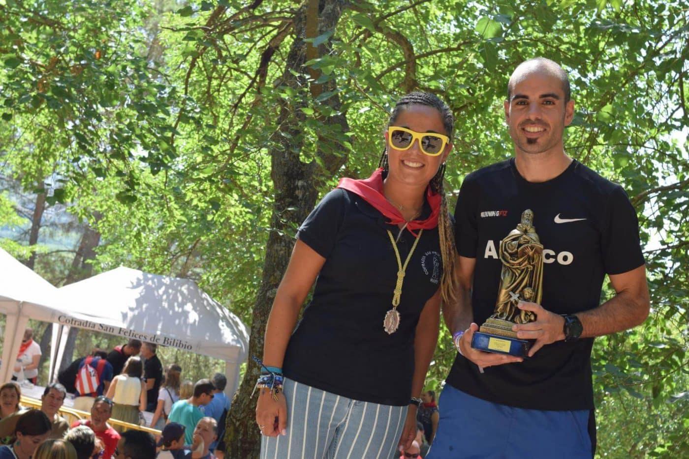 Gustavo Sánchez y Rebeca Peña, ganadores en San Felices 23