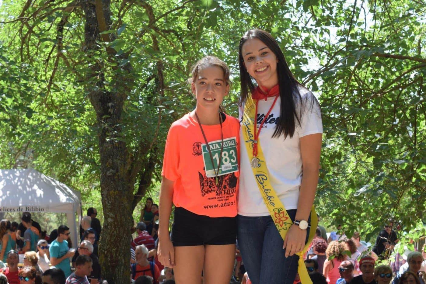 Gustavo Sánchez y Rebeca Peña, ganadores en San Felices 25