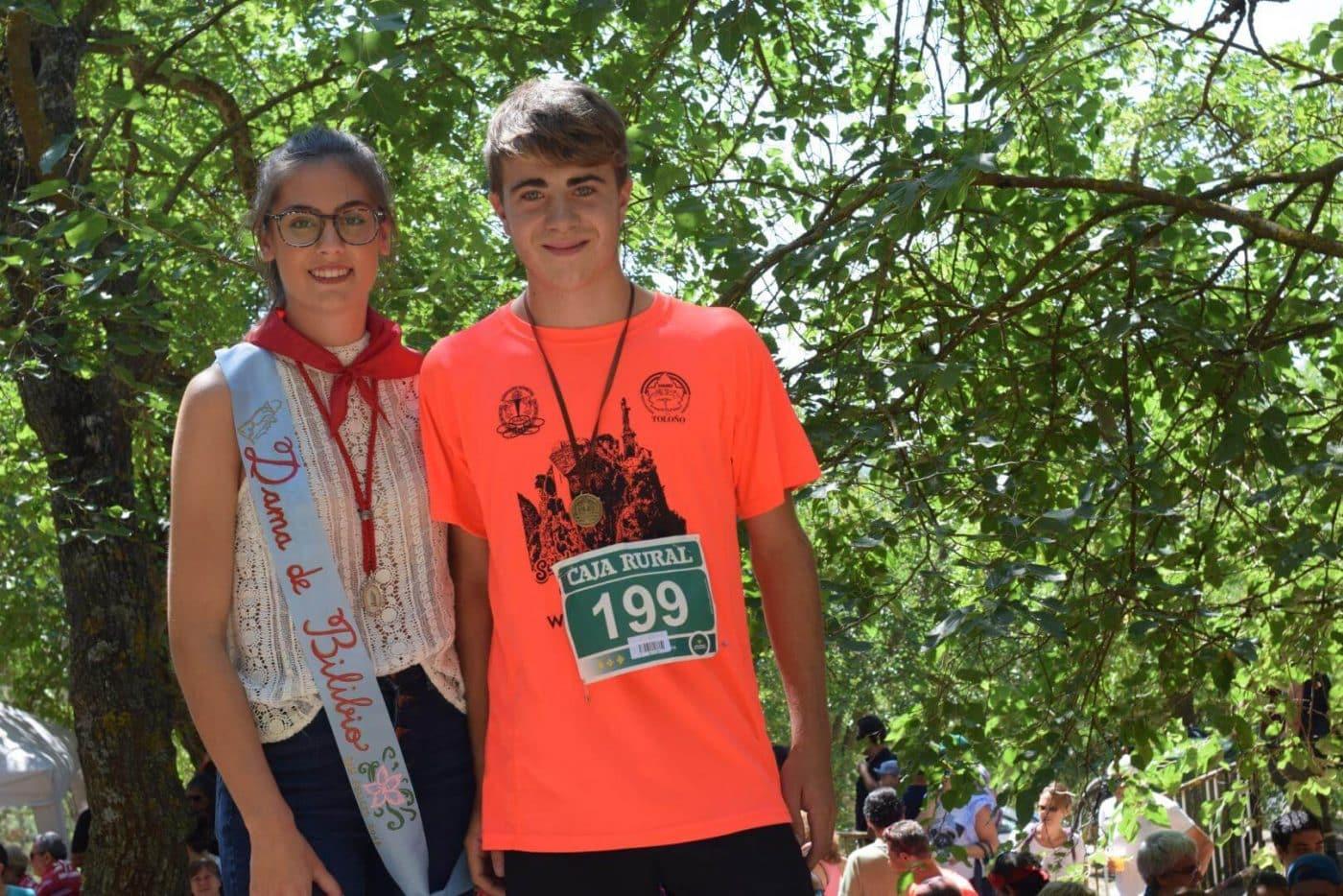 Gustavo Sánchez y Rebeca Peña, ganadores en San Felices 27
