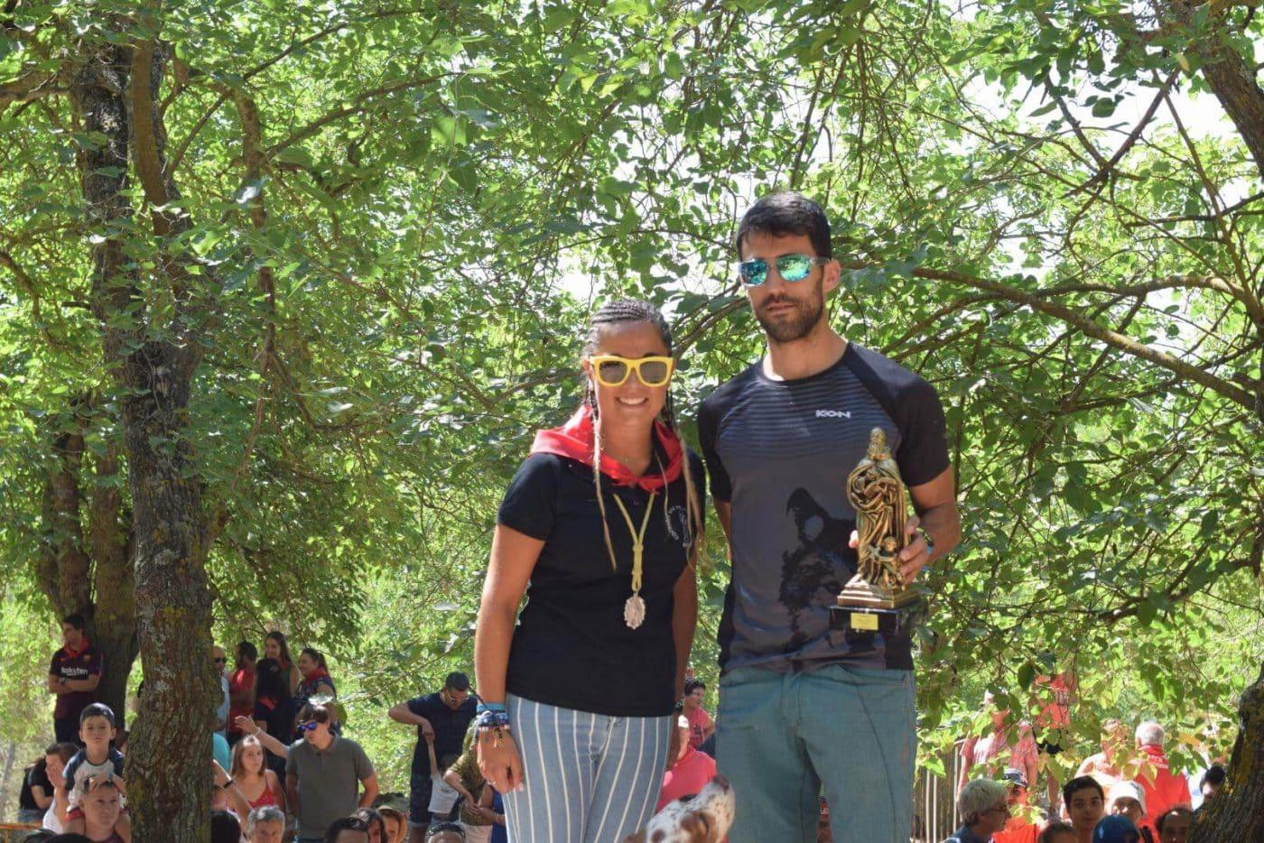 Gustavo Sánchez y Rebeca Peña, ganadores en San Felices 9
