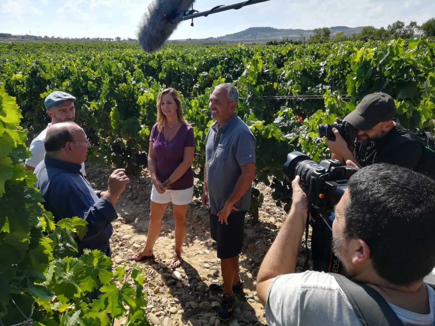La Rioja Alta, una de las paradas de la serie internacional 'I love wine' 4
