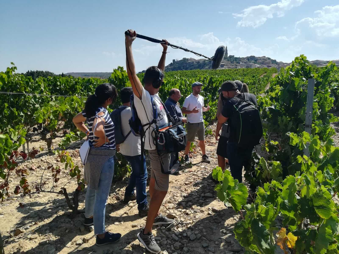 La Rioja Alta, una de las paradas de la serie internacional 'I love wine' 2