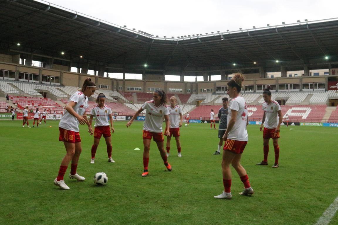 La Rioja lo da todo con el fútbol femenino 7