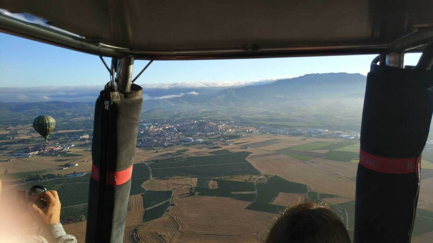 """Mi primer vuelo en globo: """"El aterrizaje ha sido elegante"""" 2"""